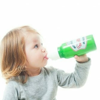 Milked Baby Milk Bottle groen