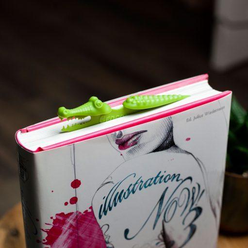Peleg Design Croco boekenlegger