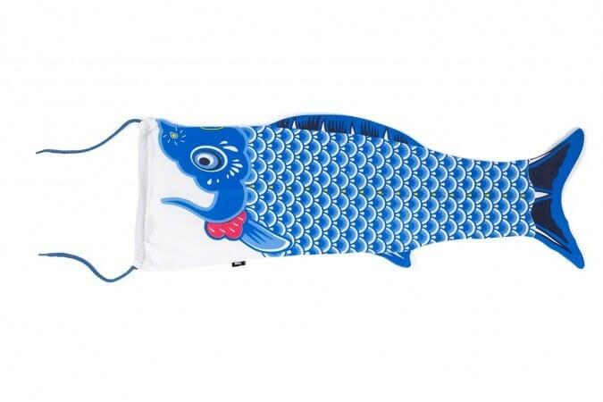 Koinobori Travel Laundry Bag - Blauw