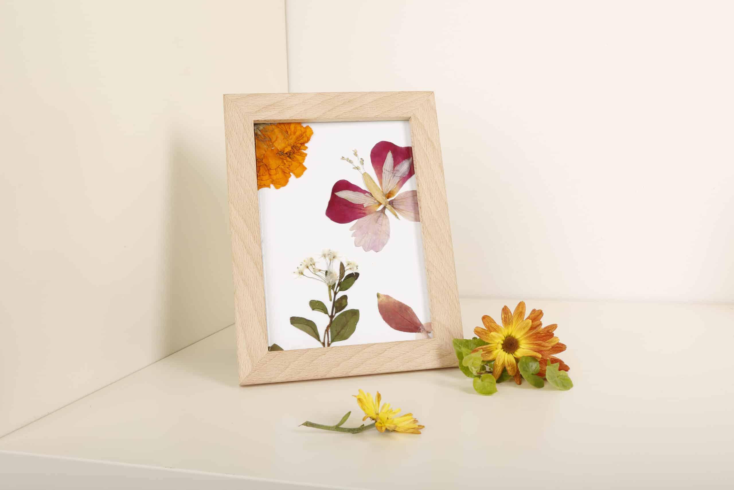 Pressed Flower Frame Art
