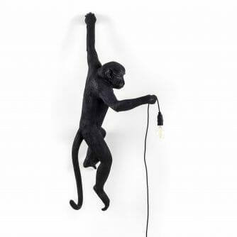 Seletti Monkey lamp hangend zwart outdoor