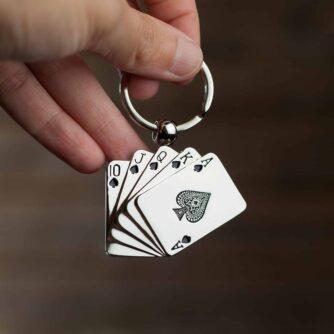 Poker sleutelhanger
