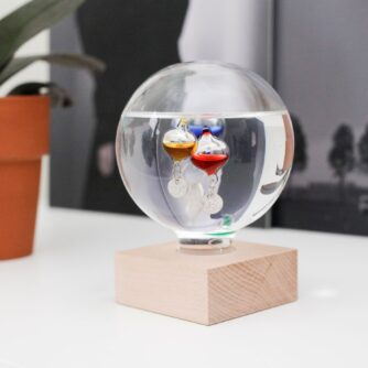 Galileo thermometer tafel
