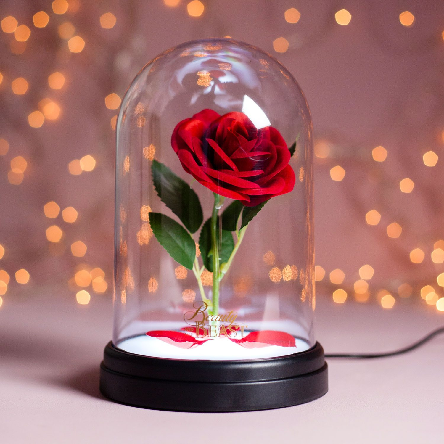 Disney Enchanted Rose Lamp