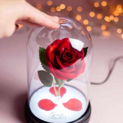 Enchanted Rose lamp detail