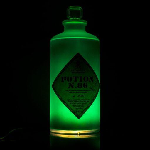 Harry Potter Potion 86 fleslamp in het donker
