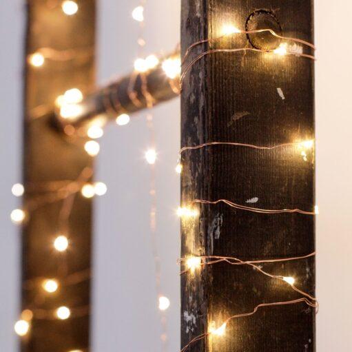 Koperen fairy lights