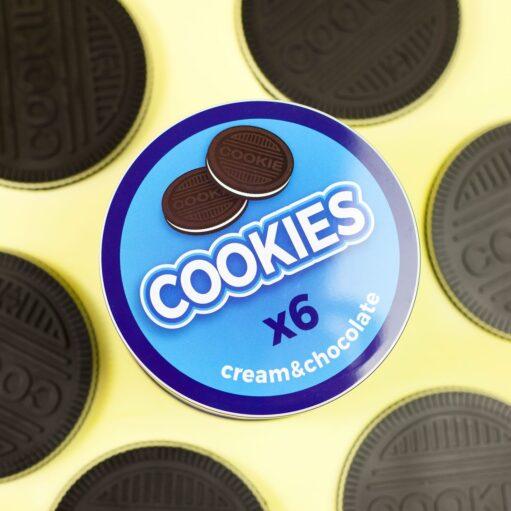 Cookies onderzetters detail
