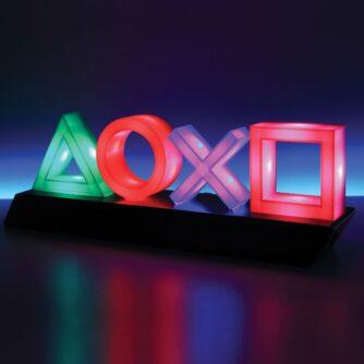 PlayStation Icons Light in het donker