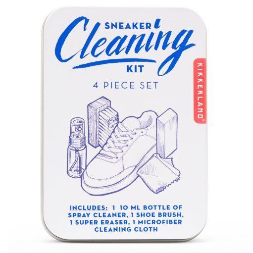 Schoenen schoonmaakset verpakking