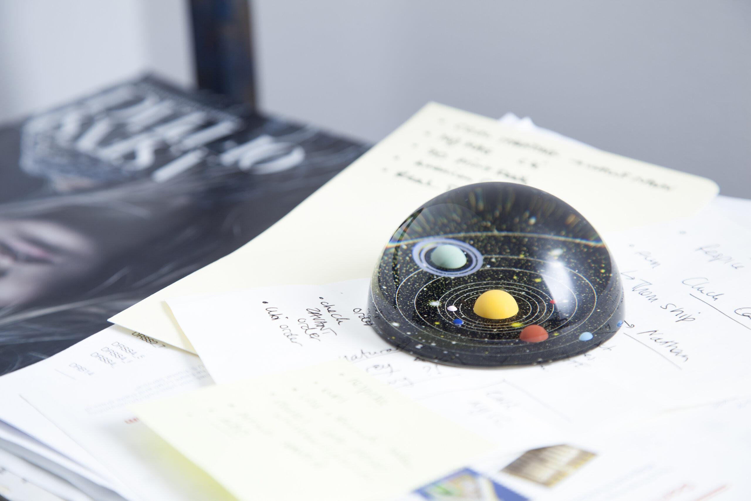 Planetarium Presse Papier