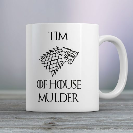 Gepersonaliseerde mok Game of Thrones of house