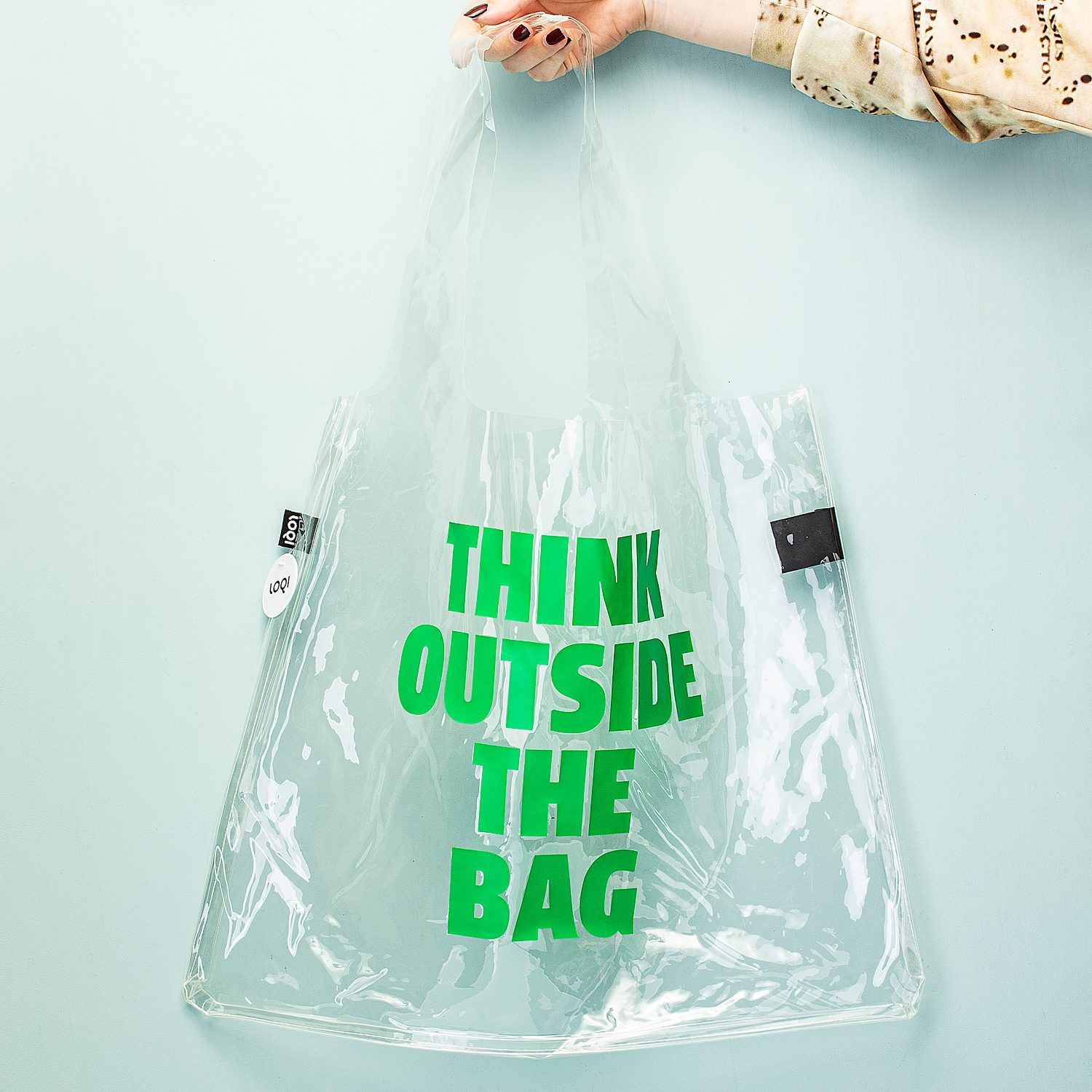 Transparante Tas - Think Outside The Bag - LOQI