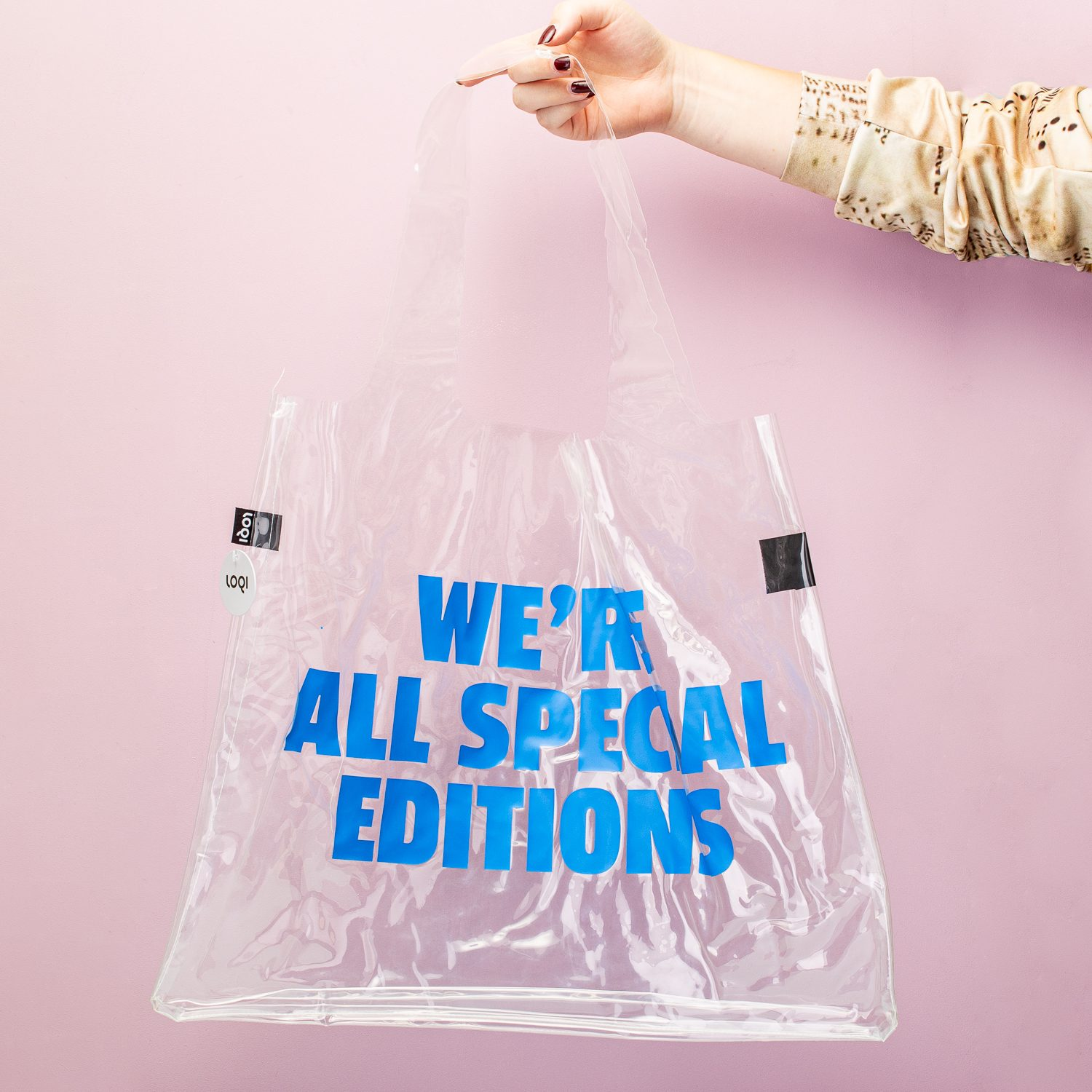 Transparante Tas - We're All Special Editions - LOQI