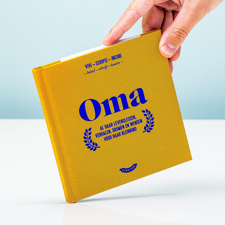 Oma Invulboek - Stratier