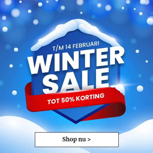 Winter Sale - Tot 50% korting