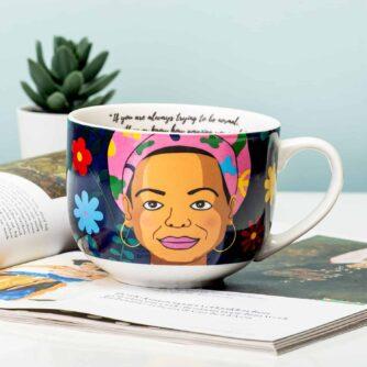 Maya Angelou mok