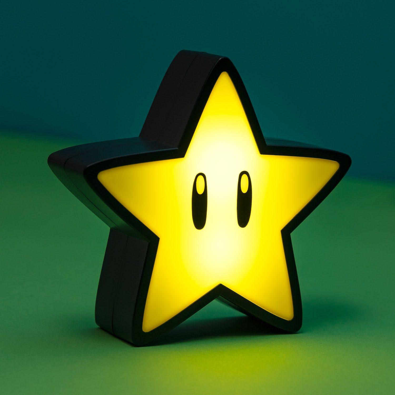 Nintendo Super Mario Super Star Lampje Met Geluid