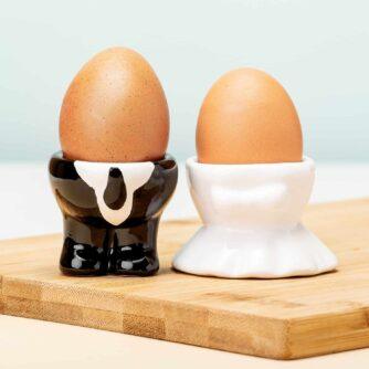 Bruidspaar eierdoppen