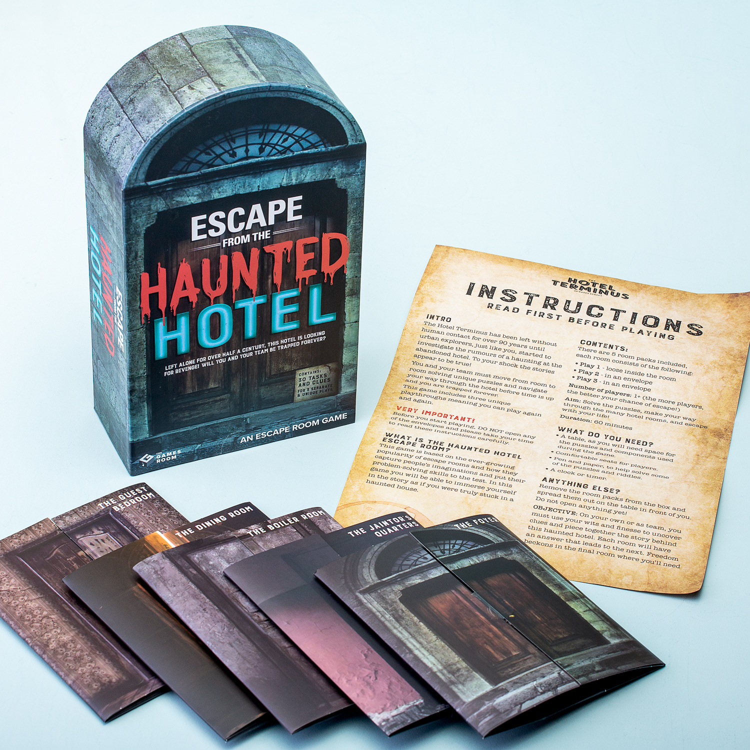 Escape From The Haunted Hotel Spel