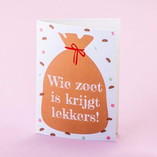 Wenskaart Sinterklaas