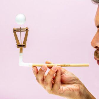 DIY zwevende bal