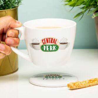 Friends Central Perk koffiekop en onderzetter cadeauset