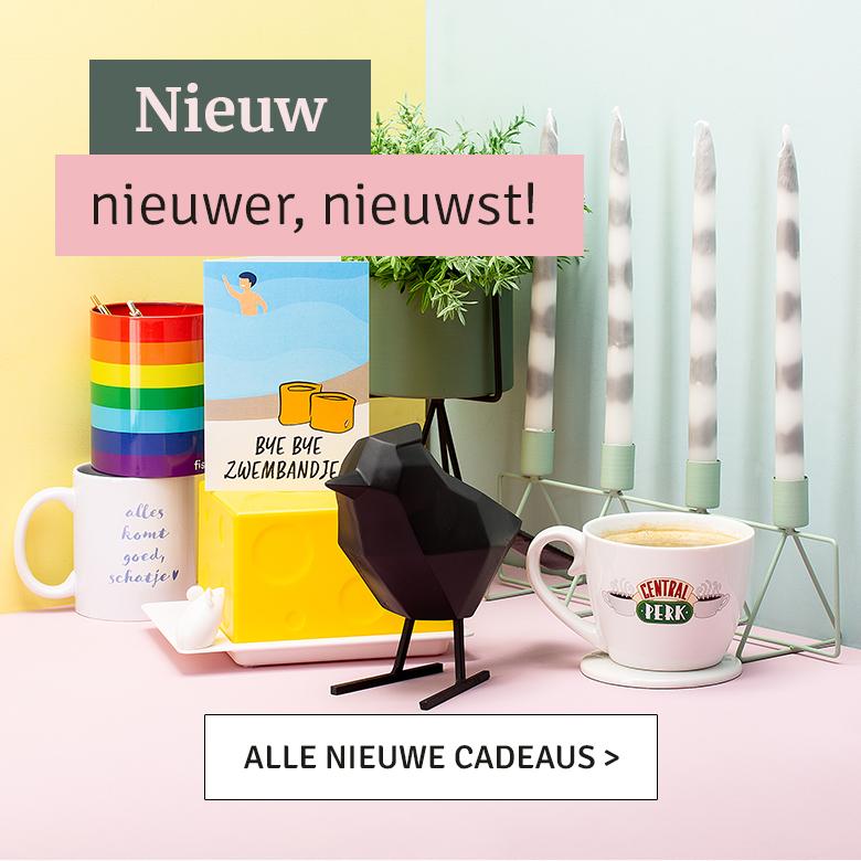 Nieuw, nieuwer, nieuwst - alle nieuwe cadeaus