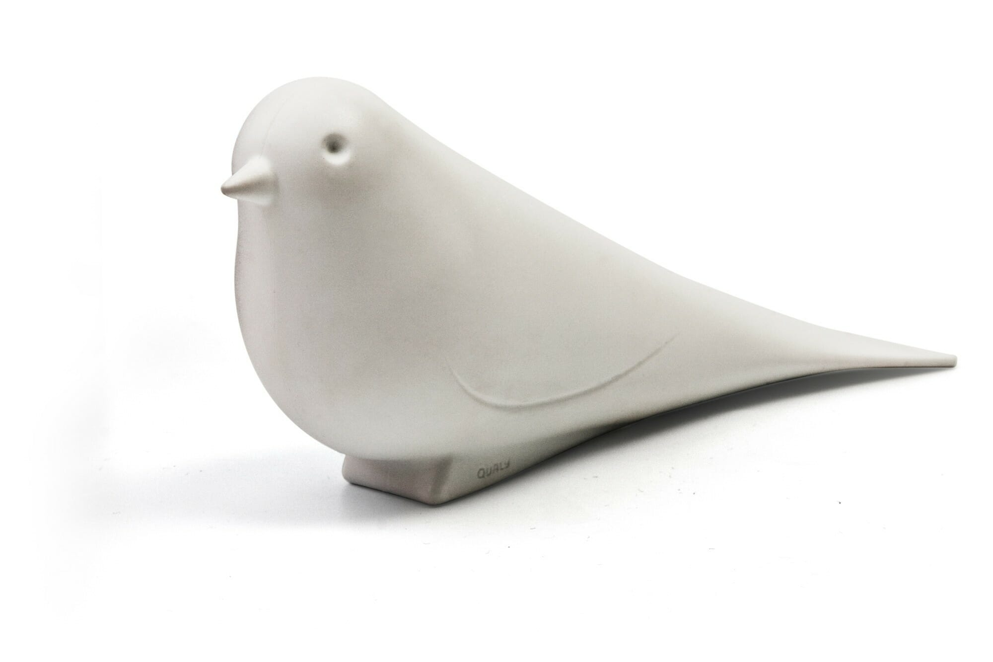 Doorstop Dove - White