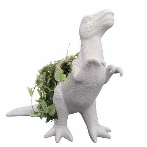 Plantosaurus bloempot zijkant