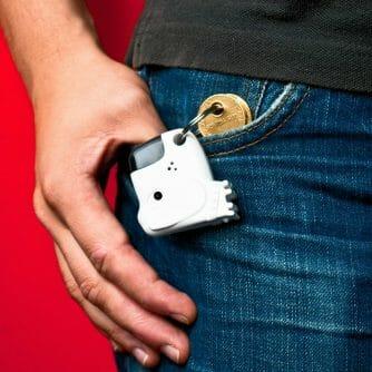 fluitende sleutelvinder sleutelhanger
