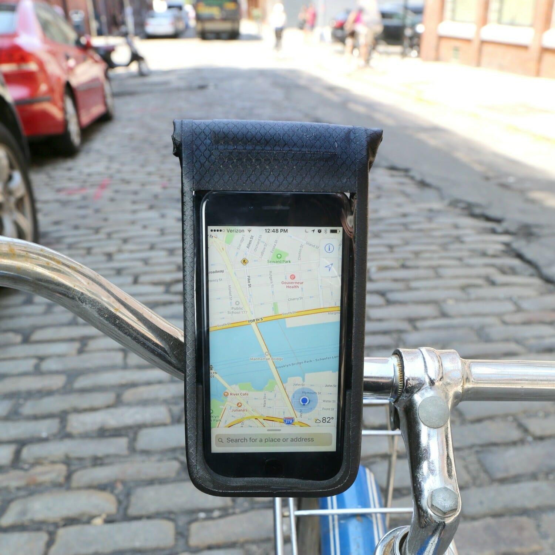 telefoonhouder smartphonehouder fiets