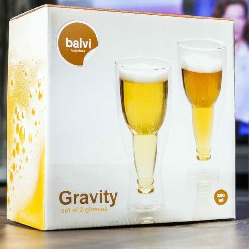 Gravity bierglazen verpakking