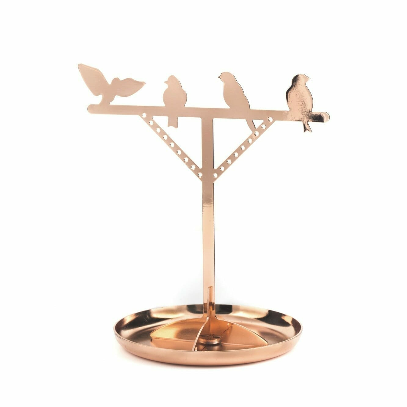 Bird Jewelry Stand - Koper