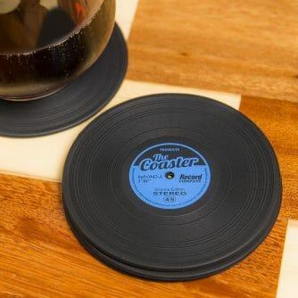 vinyl onderzetter LP