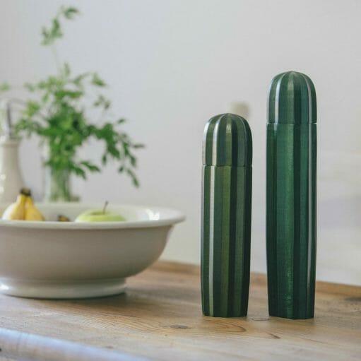 Cactus peper- en zoutmolen groen