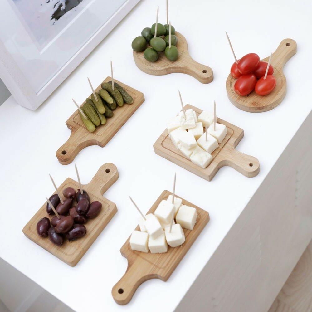 Houten serveerplankjes