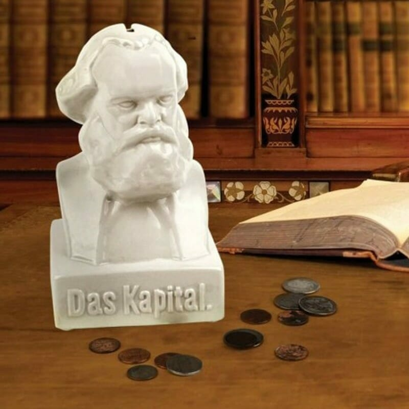 Karl Marx Money Bank - Kikkerland