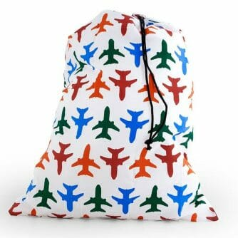 Travel Laundry Bag airplane