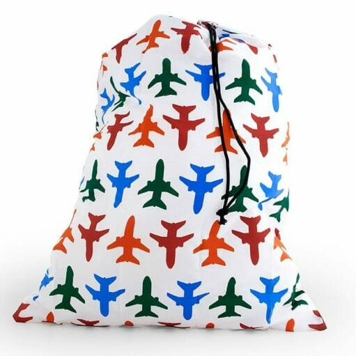 Travel Laundry Bag airplane