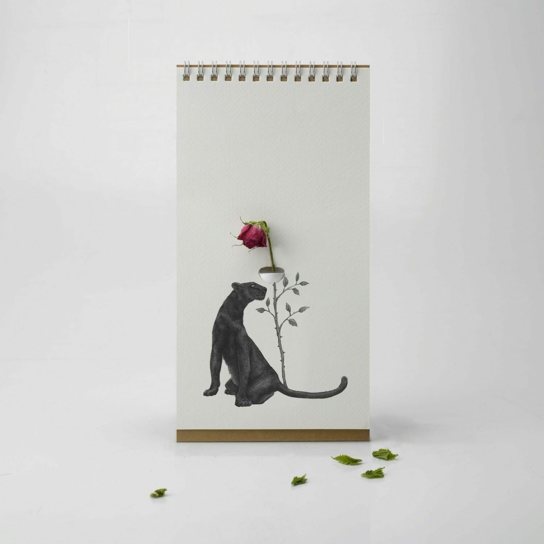 Flip Vase - Wilde Dieren