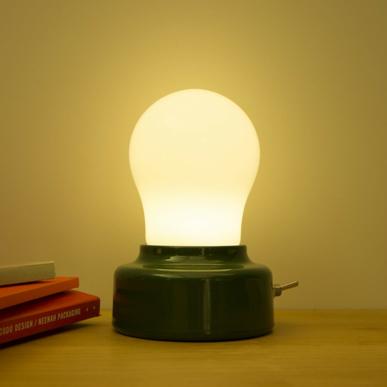 Gloeilamp Bureaulampje - Kikkerland