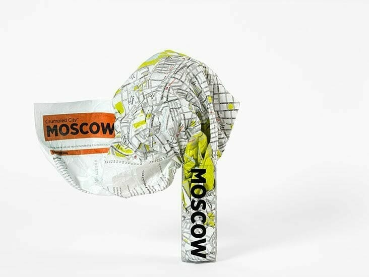 Crumpled City - Moscow