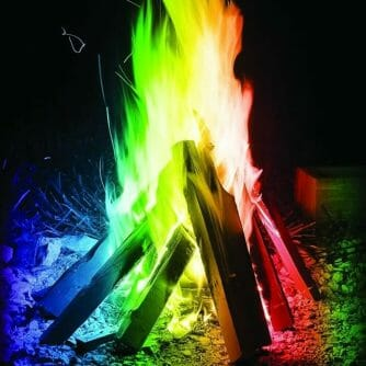 Mystical Fire gekleurd vuur