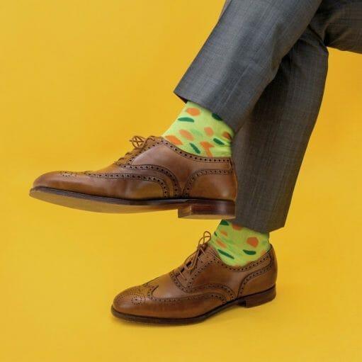 Soep sokken groen