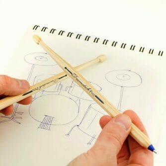 Drumstok Pennen handen