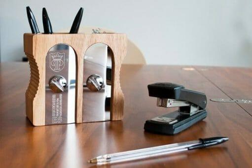 Sharpener Desk Tidy detail