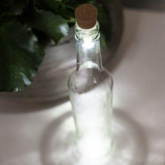 lightning bottle flessen licht