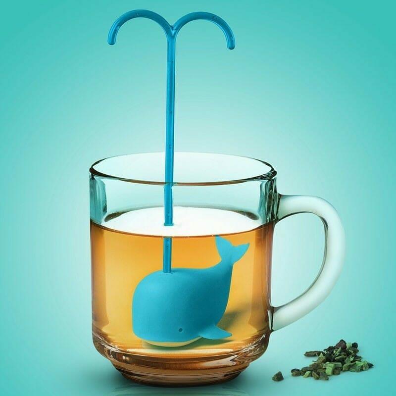 Tea Infuser Blauwe Walvis - Balvi