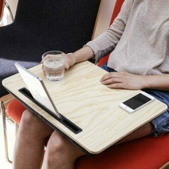 Large iBed tablethouder hout